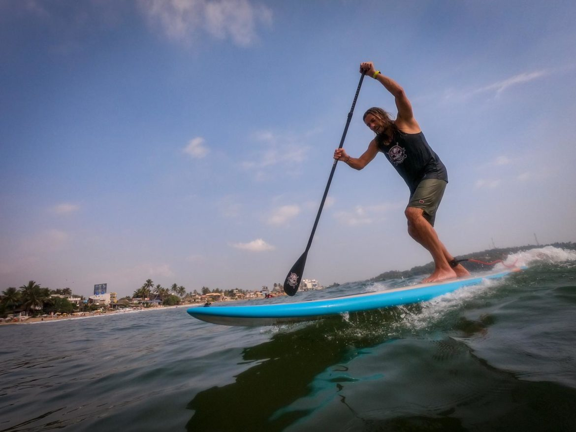 SUP-Surfing Camp