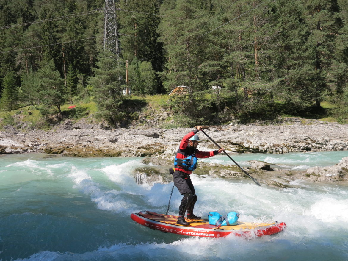Wildwasser SUP Camp
